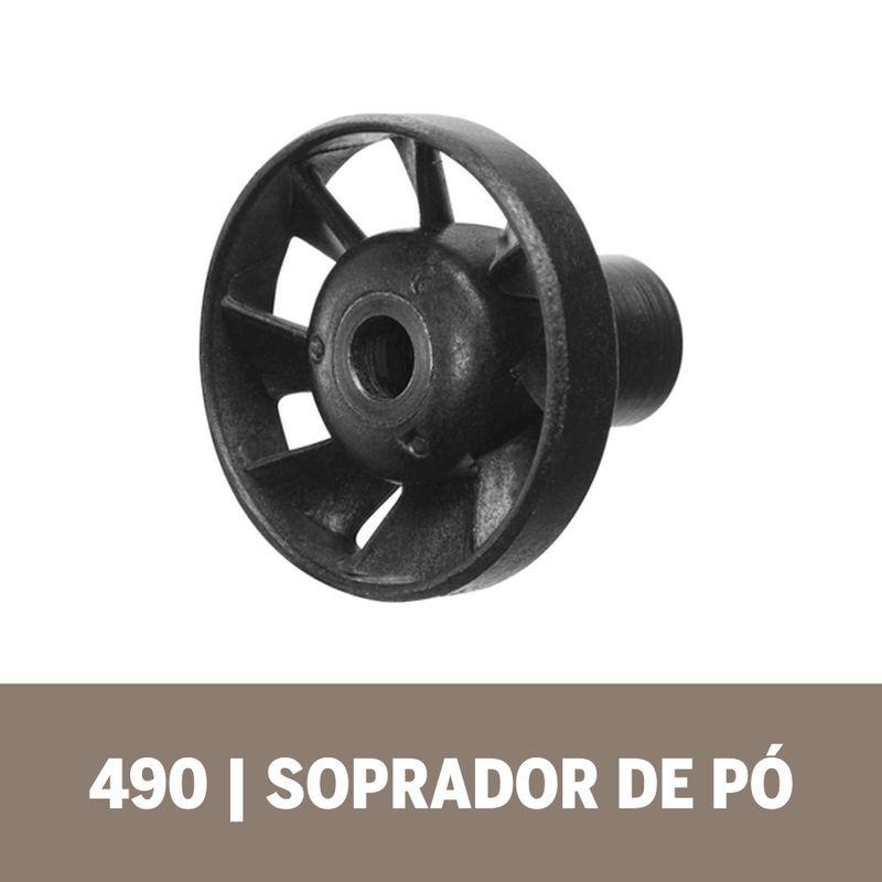 Acoplamento-de-Microrretifica-Dremel-490-Soprador-de-Po