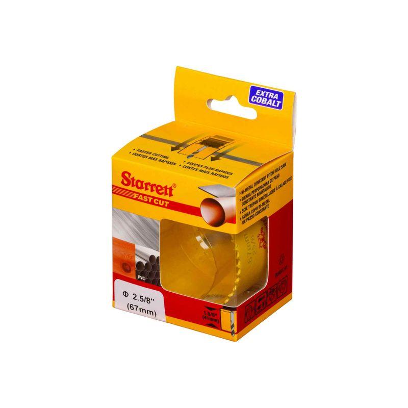 Serra-Copo-Starrett-FCH0258-G-Fast-Cut-2.5-8--67mm