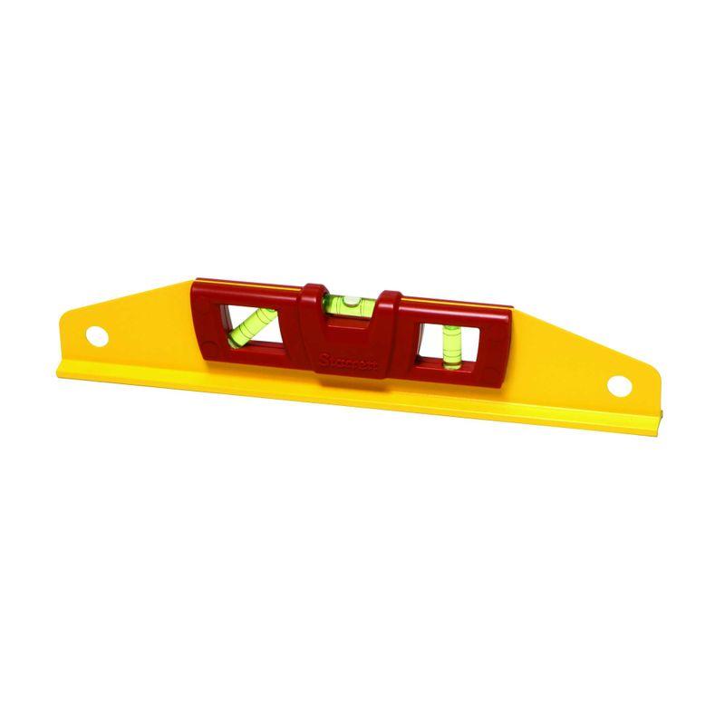 Nivel-Trapezoidal-De-Aluminio-Starrett-KLTS-14-14--com-3-Bolhas-1-De-Prumo-1-De-Nivel-E-1-De-45°