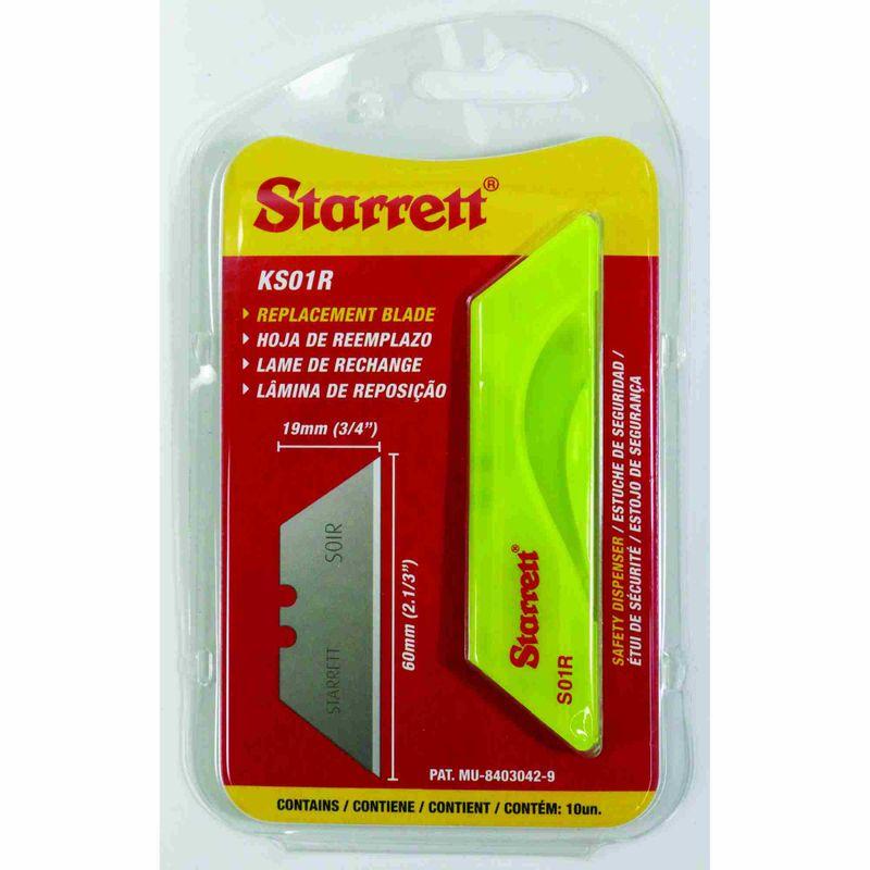 Lamina-Trapezoidal-Starrett-KS01R-60x19mm-P-Estilete