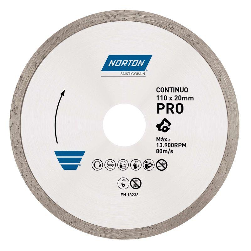 Disco-Diamantado-Norton-para-Corte-Continuo-PRO-110x20mm