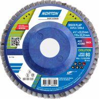 Disco Flap Norton Evolution Norton R822 Grão 80 115x22,23mm