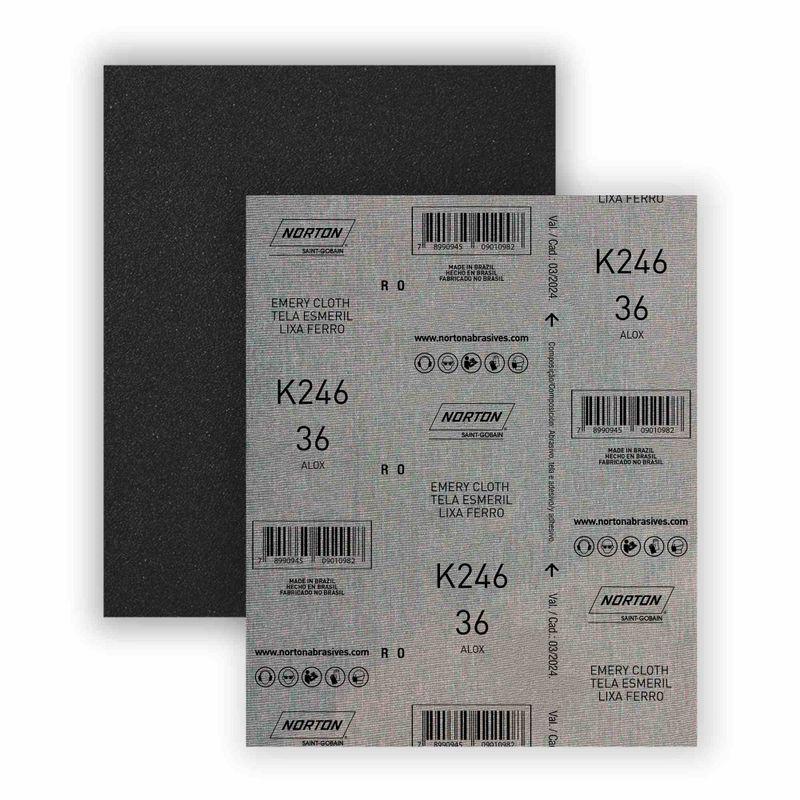 Folha-de-Lixa-Norton-Ferro-K246-Grao-36