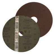 Disco de Fibra Norton Metalite F227 Grão 80 115x22mm