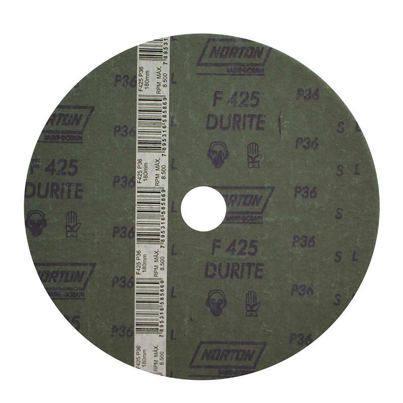 Disco-de-Fibra-Norton-Durite-F425-Grao-36-180x22mm