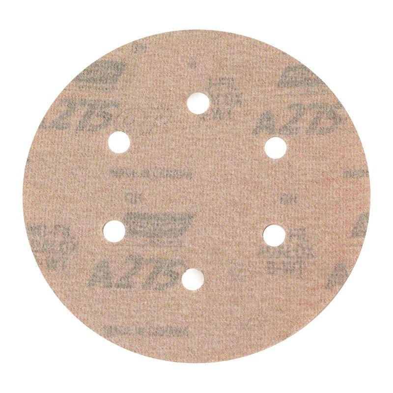 Disco-de-Lixa-Norton-Seco-A275-Grao-600-152mm-com-6-furos