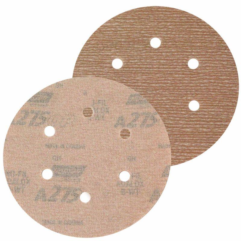 Disco-de-Lixa-Norton-Seco-A275-Grao-400-152mm-com-6-furos