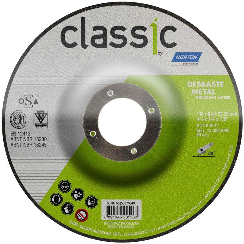 Disco-de-Desbaste-Norton-Classic-115x64x2223mm