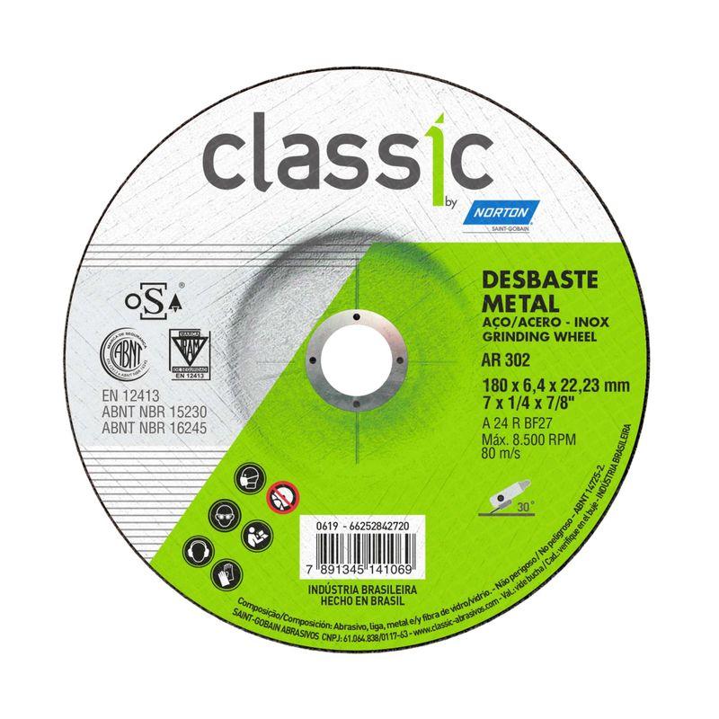 Disco-de-Desbaste-Norton-Classic-180x64x2223mm