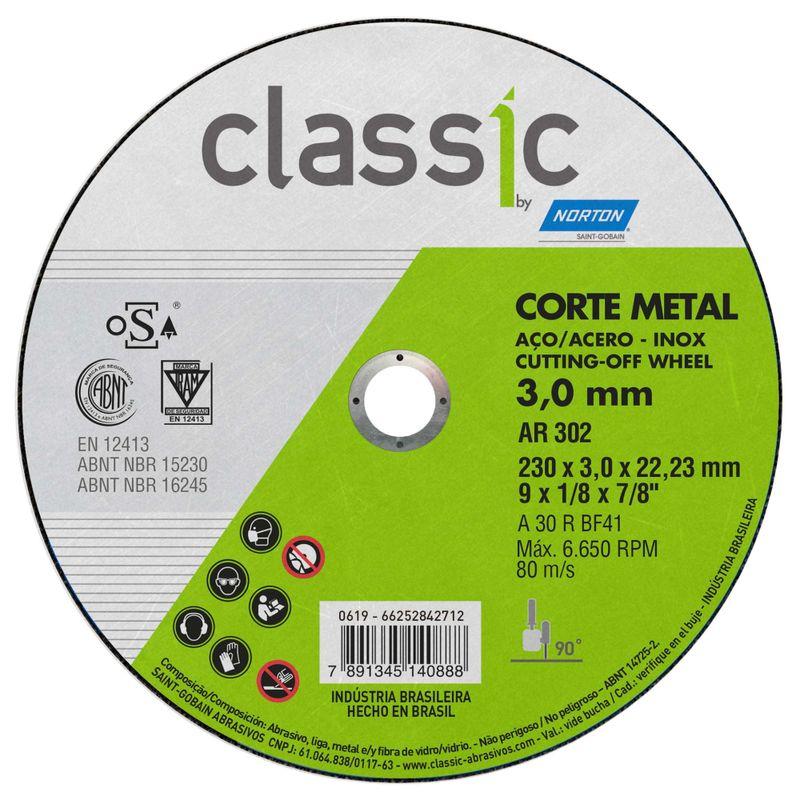 Disco-de-Corte-Norton-Classic-230x30x22mm