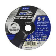 Disco de Corte Norton Blue Fire 76x1,6x10mm