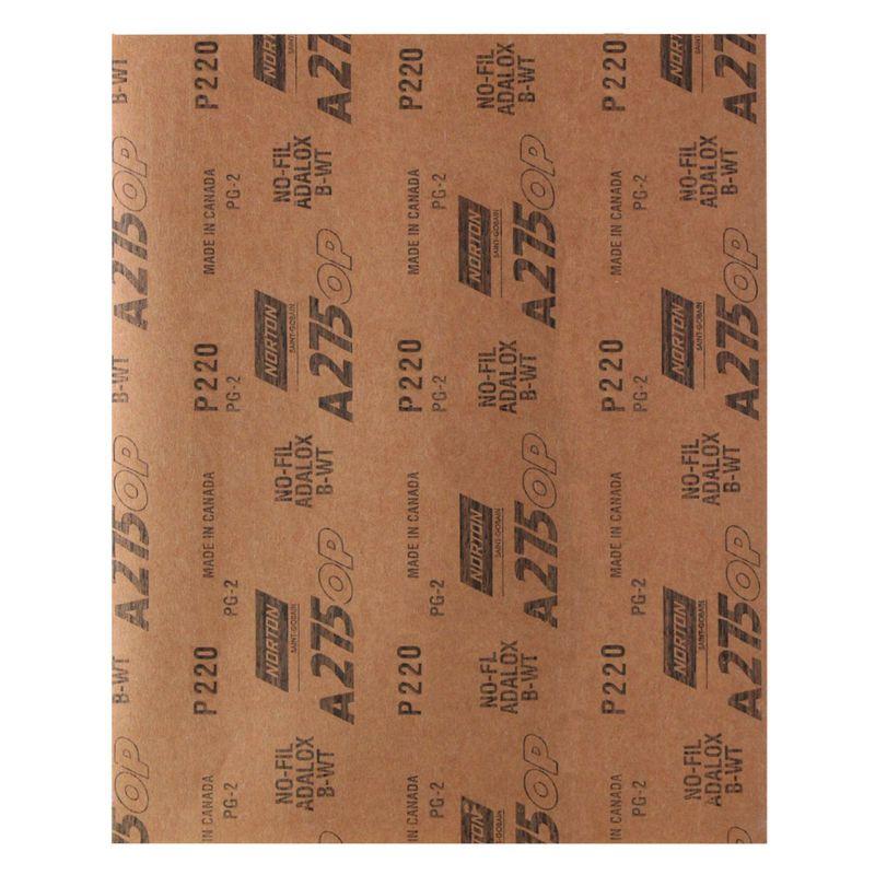 Folha-de-Lixa-Norton-Seco-A275-Grao-220
