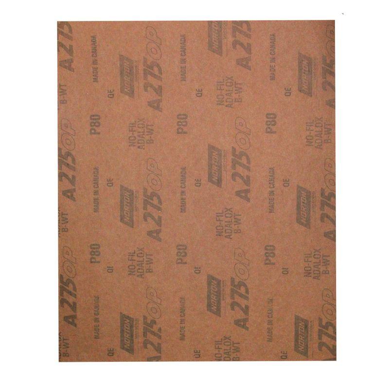 Folha-de-Lixa-Norton-Seco-A275-Grao-80