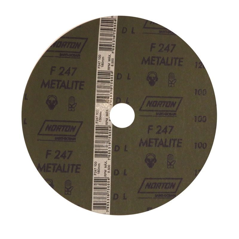 Disco-de-Fibra-Norton-Metalite-F247-Grao-100-180x22mm