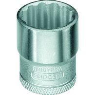 """Soquete Gedore Estriado 3/8"""" D 30 - 16 mm"""